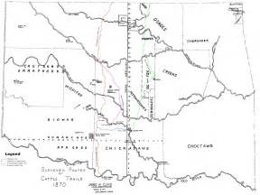 cattle trails map cattle trails map river mappery