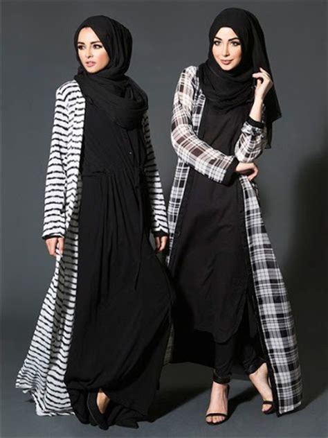 Jaguar J6421 A Karet Hitam In Collection trend model baju muslim casual modern terbaru 2015 2016 fika shop