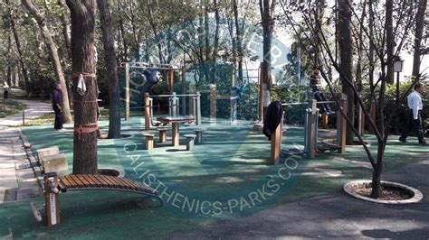 nanjing calisthenics park xuanwu lake park china spot