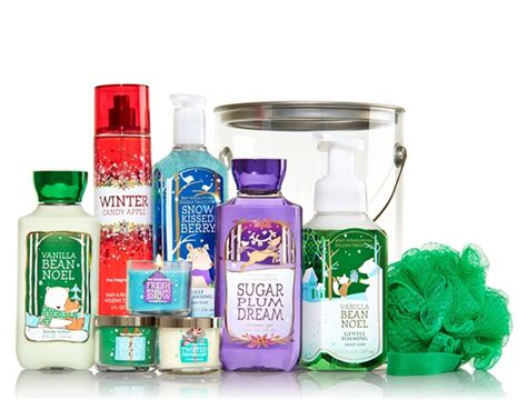 bath body works holiday traditions bucket sale