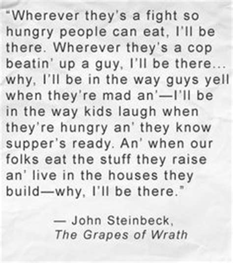 themes in grapes of wrath with quotes john steinbeck quotes on writing quotesgram