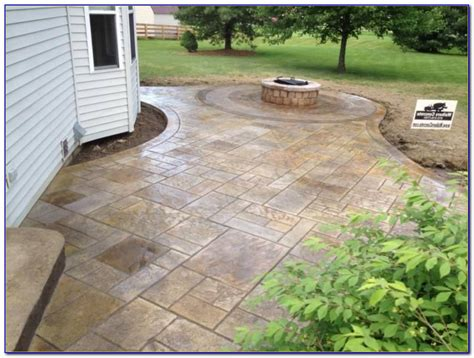 Design Concrete Patio Excellent Sted Concrete Patio Design Ideas Patio Design 298