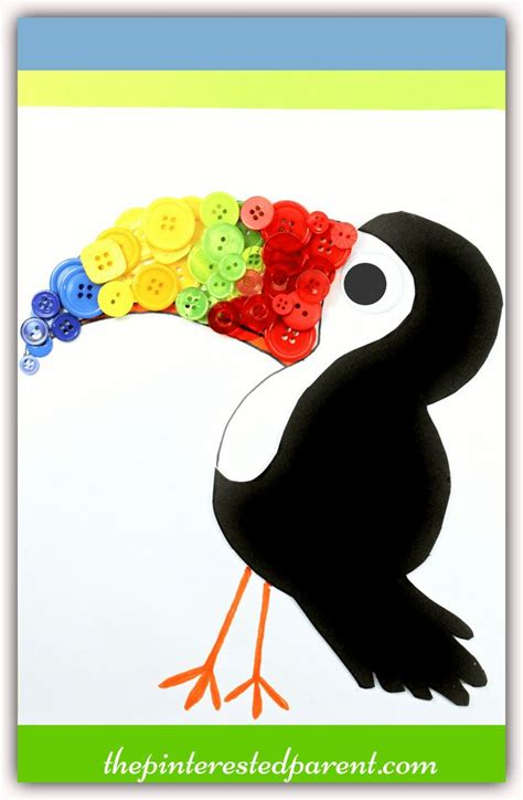 toucan craft for best 25 toucan craft ideas on parrot craft