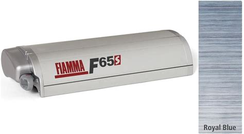 fiamma markise f65 s fiamma f65 s gelenkarm markise 290cm royal blue geh 228 use