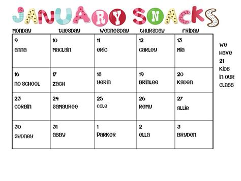 sports for sport team snack schedule www sportssrc com