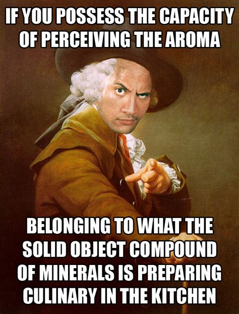 Old English Rap Meme - the archaic rock joseph ducreux archaic rap know