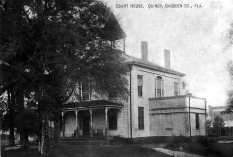 Gadsden County Court Records Florida Memory Gadsden County Courthouse Building Quincy Florida