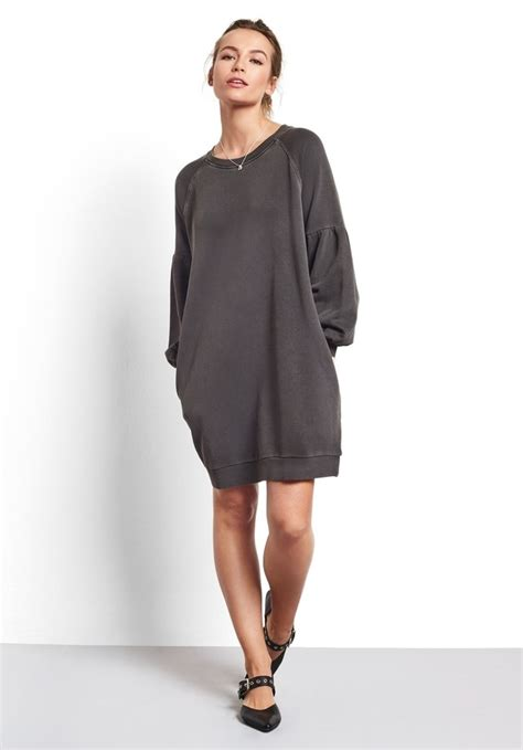 Puff Tunik puff sleeve sweat tunic endource