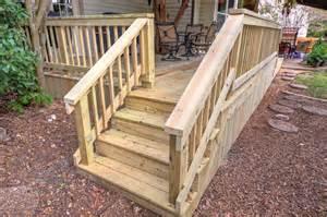 deck stairs handrail deck stair railings deck railing