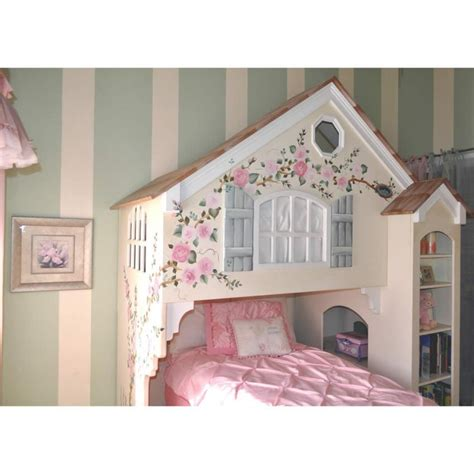 Doll House Bunk Bed by Dollhouse Loft Bed Creme De La Fleur