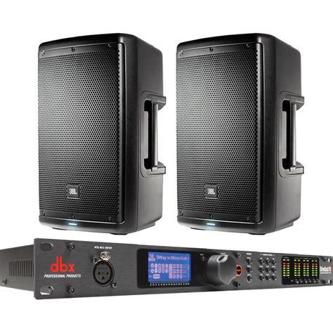 Speaker Jbl 10 jbl dual eon610 10 quot 2 way powered speakers dbx b h