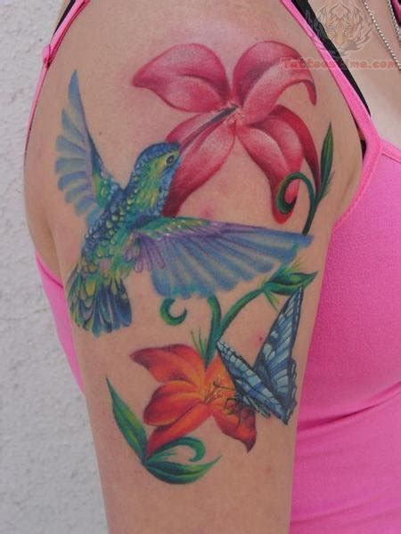 hummingbird and rose tattoo hummingbird tattoos page 6