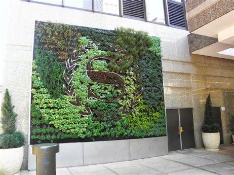 Vertical Garden Companies Sheraton Vertical Garden Built For Mile High Gardening