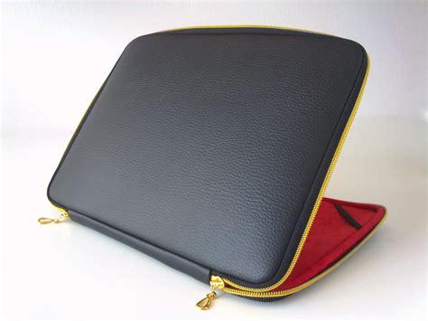 Cover Laptop Black Leather Laptop Caseleather Caselaptop Sleeveleather