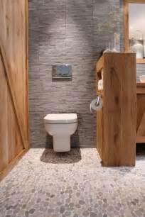 Superbe Couleur Pour Une Salle De Bain #3: 1-sol-avec-carrelage-galet-pour-la-salle-de-bain-meubles-de-salle-de-bain-murs-gris.jpg