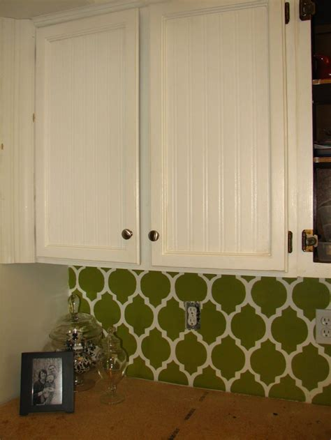 beadboard wallpaper on laminate cabinets cabinet with beadboard wallpaper installed for the home