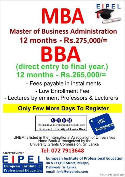 Mba Courses In Sri Lanka by 19 Best Accountancy Courses Images On Sri