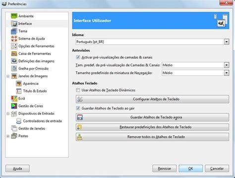 tutorial videopad editor em portugues saiba como mudar o idioma do gimp e deixar o editor em