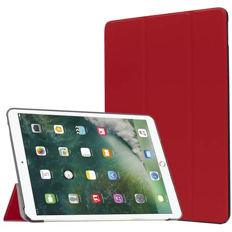 Apple Pro 10 5 Protective Shell Smart Cover Pu Leather Back 2 trifold smart for apple pro 10 5 inch