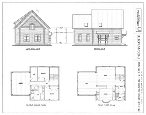 saltbox house plans designs the timber frame house plan