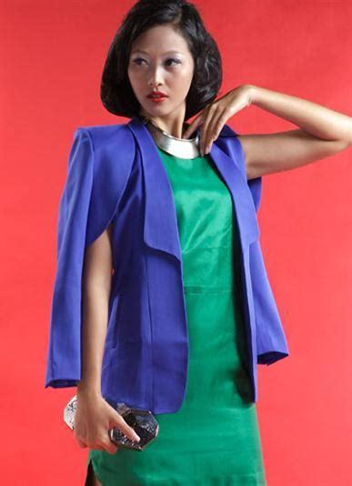 Celana Pensil Wanita Biru Navy gempita geometris