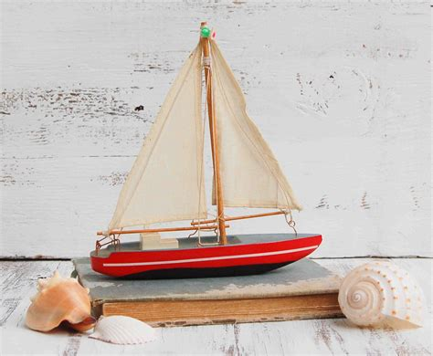 toy boat decoration toy boat decoration baby room wooden sailboat boat