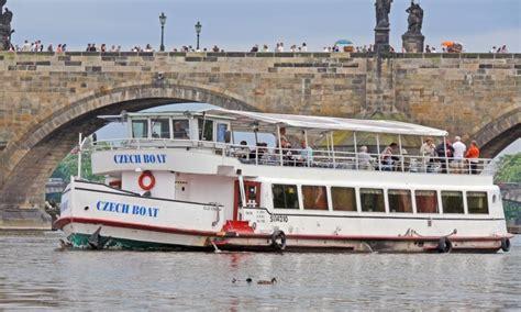 boat trip in prague cruise on the vltava river
