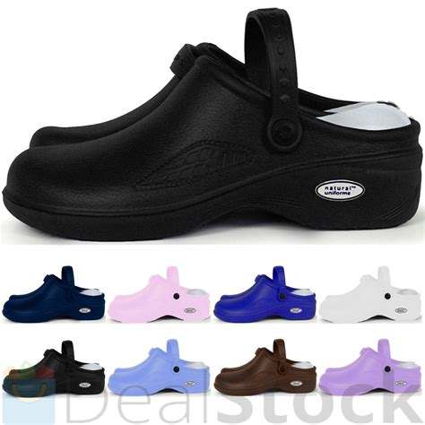 clogs shoes for nursing womens comfortable lightweight slip