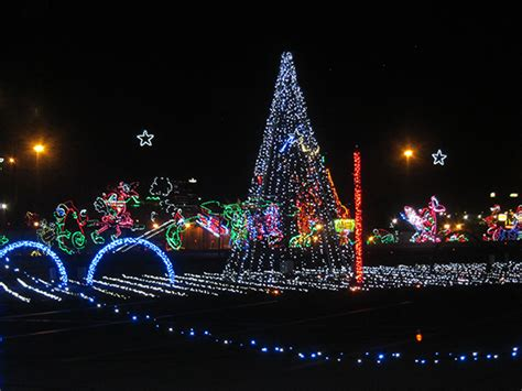 winterfest lights up the smoky mountains