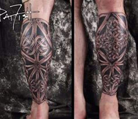 cool leg tattoos 52 cool celtic tattoos design on leg