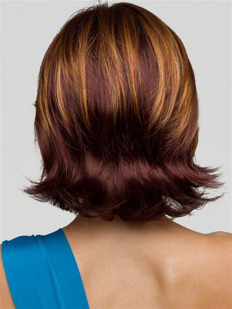front and back views of medium length hair medium bob hairstyles front and back view short