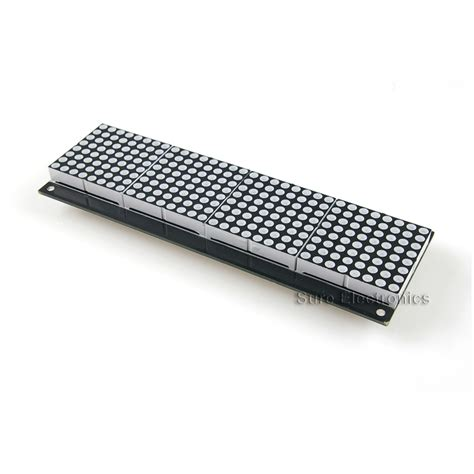 Led Dot Matrix 32x8 dot matrix display board ht1632c 3mm green dp13111 electronics led led dot matrix