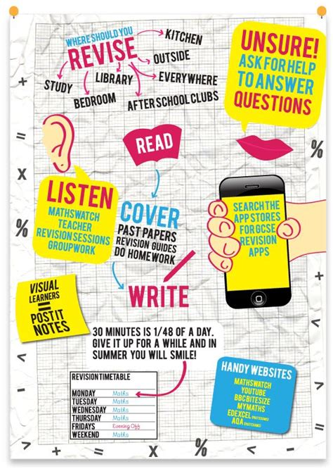 10 Ways To Keep Up With Revision by 17 Best Ideas About Revision Techniques On