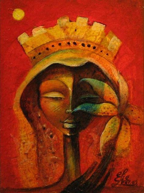 black queen art black flower queen canvas print canvas art by elie