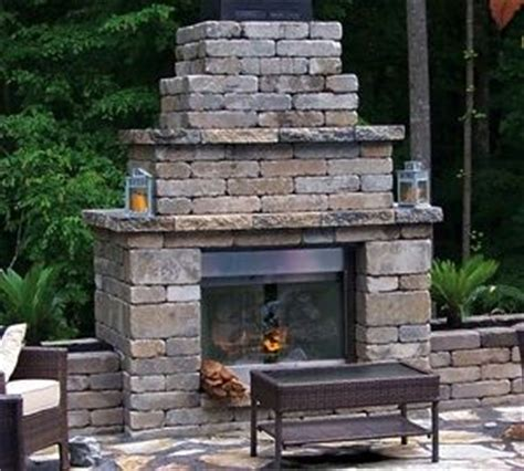 Blocked Fireplace by Outdoor Fireplaces Flagstone Patio And Fireplaces On