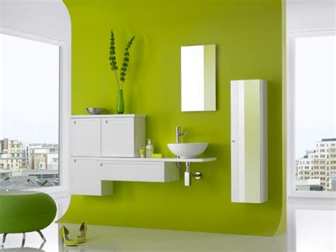unique bathroom paint colors ideas from green wall paint wandfarbe in gr 252 nt 246 nen frische lebhafte farbgestaltung
