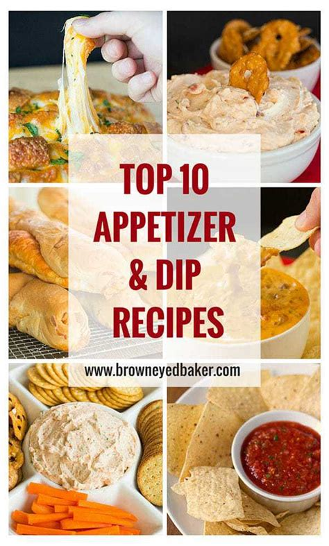 best appetizer recipes top 10 best dip and appetizer recipes
