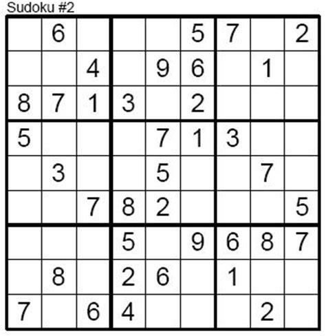 printable sudoku puzzles level 1 of 8 the game i play sudoku easy level 002