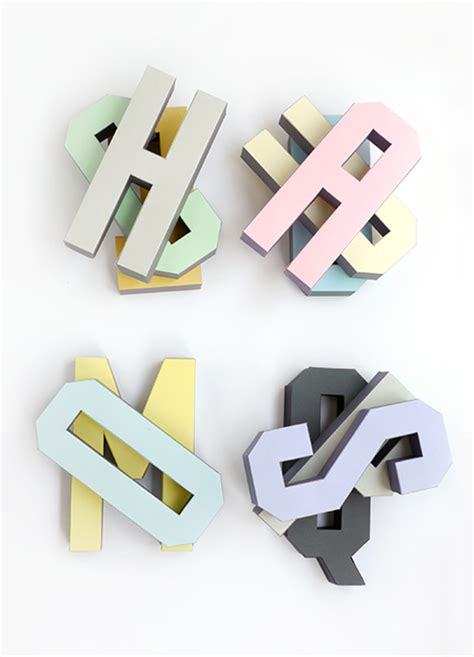 3d alphabet letters template 3d alphabet templates mr printables