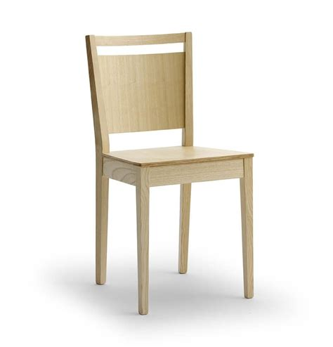 modern wood chair modern chair in ash wood idfdesign