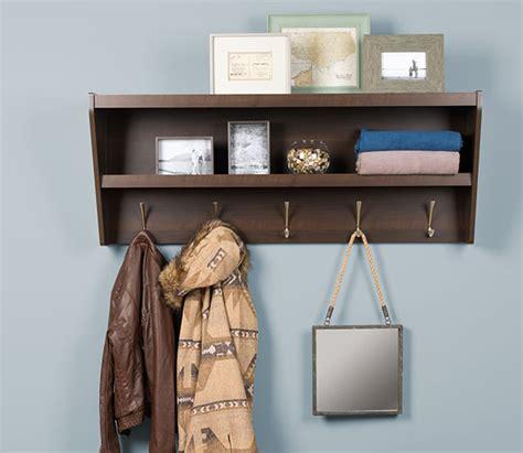 Entryway Rack Shelf by Floating Coat Rack And Entryway Shelf