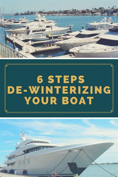 winterizing a boat in water de winterizing your boat corinthian marine
