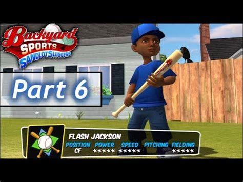 backyard baseball part 6 you want to replace flash