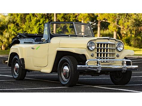 Jeep Jeepster 1950 Willys Jeepster For Sale On Classiccars 3 Available