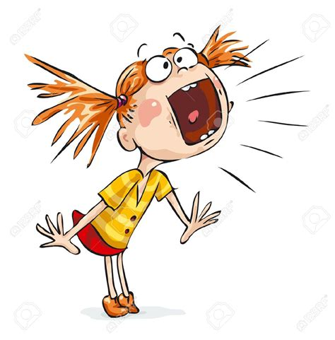 clipart yelling situation clipart shouting pencil and in color situation