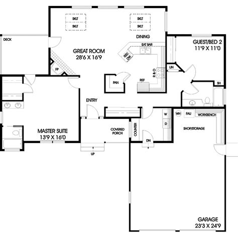 hardesty house plan hardesty traditional ranch home plan 085d 0452 house plans and more