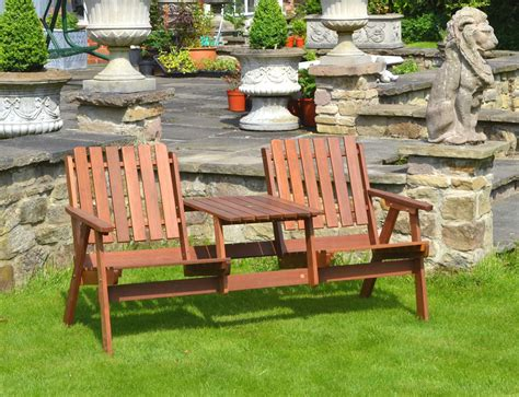 Garden Furniture Seats Fsc Acacia To Garden Seat 163 104 99