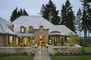 country exteriors french country elegance traditional exterior portland by alan mascord design associates inc