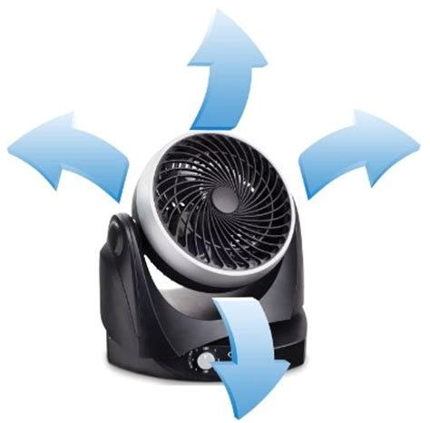 silent desk fan amazon ozeri brezza ii dual oscillating 10 high velocity desk