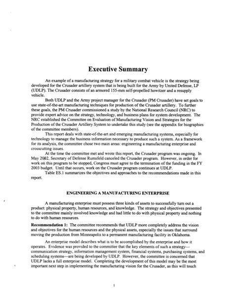 one page executive summary template 21 images of army executive summary template infovia net